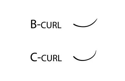 Wimpernextensions – B Curl vs. C Curl